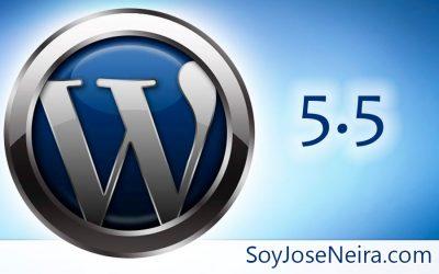 WordPress 5.5 llega con sitemap, actualizaciones automáticas y más